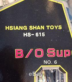 Vintage Taiwan Japanese Super Combination Robot Toy Set B/O Cosmic Combo Hsiang