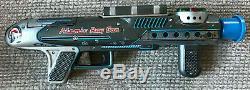 Vintage Tin Litho Cragstan Space Toy Gun Atomic Ray Gun