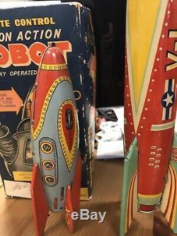 Vintage Tin Rockets