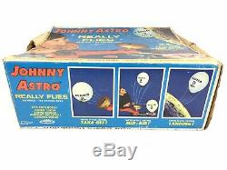 Vintage Topper Toys Johnny Astro Space Spacecraft Astronaut Complete w Box Works