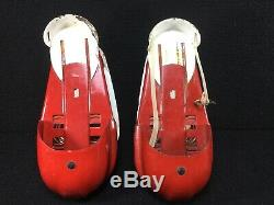 Vintage Toy 1940's-50's Satellite Metal Jumping Spring Shoes Rappaport Brothers