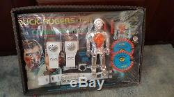 Vintage Ultra RARE SEALED Buck Rogers Communications Set MISB