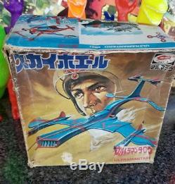 Vintage Ultraman Taro Ship Bullmark MiB Windup Toy