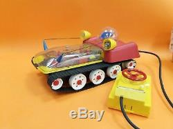 Vintage Very Rare Soviet Ussr Space Toy Planet Rover / Box Battery Oper