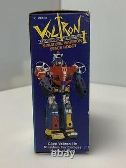 Vintage Voltron 1 Miniature Warrior Space Robot Matchbox Brand New in Box
