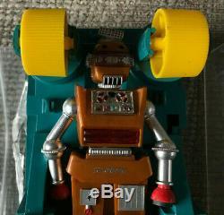 Vintage Zeroids Robot Alien Zobor In Rectangular Plastic Case Ideal 1969