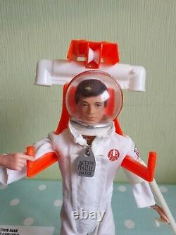 Vintage action man ORIGINAL RARE SPACE EXPLORER FIGURE COMPLETE NICE