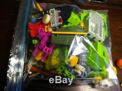 Vintage c1983 FISHER PRICE CONSTRUX Building Toys, well over 1500 pcs, 12 lb VGC