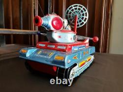 Vintage space tank moon patrol X5 yonezawa toy
