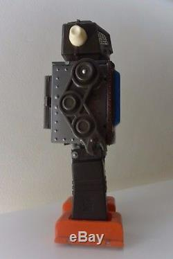 Vintage space toy robot Space Scout Made in Japan Horikawa tin