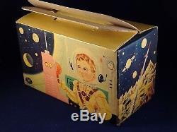 Vintage tin toy communication set battery toy Modern toys Morse Space Moon 1960