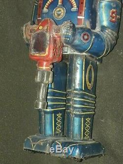 Vintage toys rare robot tin space astronauta operaty battery made in japan