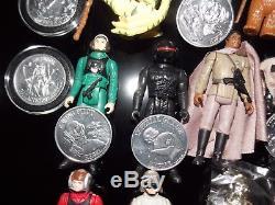 $Vintage197719841985StarWarsPOTFYakFaceev9d9POPUPsaberR2D2coinlot