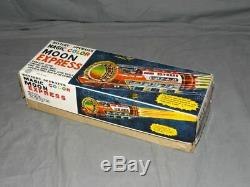 Vintagetin Lithomagic Colormoon Express / Space Trainearly 1970'staiwanmib