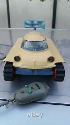 Vntg. Omega Space Planet Explorer Moonrover Toy Anker Piko Ddr Gdr Remote Contr