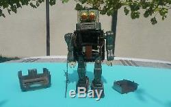 Vntg. Robot Television Space Man Toy Alps Japan 1950 Tin Battery Operated Parts