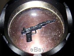 Vtg 1984 1985 Star Wars A-Wing Pilot Death Star Gunner BLACK blaster gun pistol