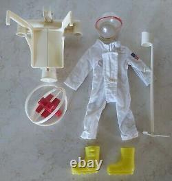 Vtg GI Joe Astronaut Flying Space Adventure Set Hasbro Adventure Team 1970 7425