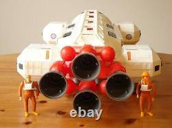 Vtg Mattel SPACE 1999 EAGLE 1 SPACE SHIP 31 Long Whiteness Restored
