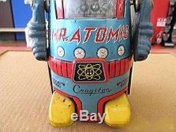 Yonezawa 1962 Mr. Atomic Tin Japan made Cragstan space toy vintage retroJapan