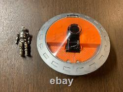 Zee Toys Metal Man 1978 Vintage Die Cast Metal Man Robot & Space Saucer Set